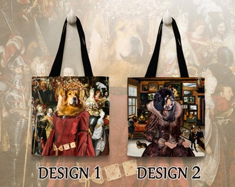 Tibetan Mastiff Tote Bag  by Nobility Dogs Arts