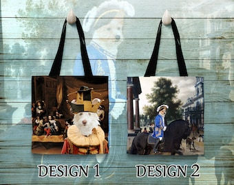Portuguese Podengo  Tote Bag   Personalized Tote Bag  by Nobility Dogs Arts