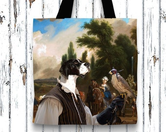 English Pointer Tote Bag   by Nobility Dogs Arts