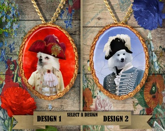 American Eskimo Jewelry Handmade Gifts by Nobility Dogs