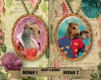 Lakeland Terrier Jewelry Handmade Gifts by Nobility Dogs
