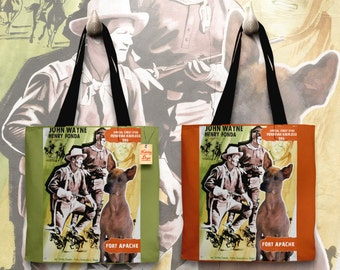 Peruvian Hairless Dog Art Tote Bag   Fort Apache Movie Poster by Nobility Dogs