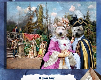 Glen of Imaal Terrier Art Canvas Print Dog Lover  Gifts by Nobility Dogs
