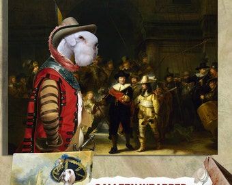Sealyham Terrier Art Print  Nobility Dogs