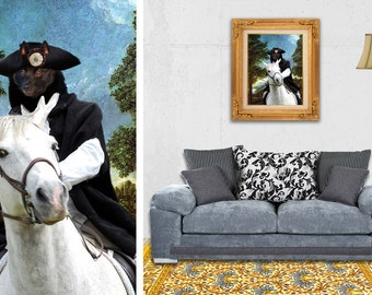 Schipperke Dog Art Canvas Print Dog Lover  Gifts by Nobility Dogs