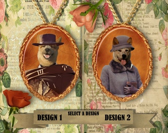 Australian Cattle Dog Jewelry Red Heeler Handmade Gifts by Nobility Dogs