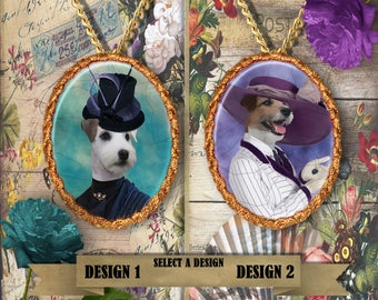 Jack Russell Terrier Jewelry Handmade Gifts by Nobility Dogs