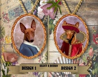 Pharaoh Hound Jewelry Handmade Gifts by Nobility Dogs
