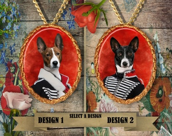 Basenji Jewelry Handmade Gifts by Nobility Dogs