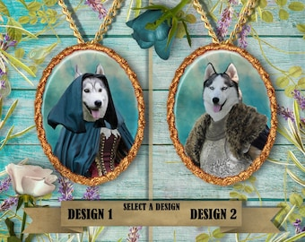 Siberian Husky Jewelry Handmade Gifts by Nobility Dogs
