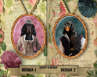 Gordon Setter Jewelry Handmade Gifts by Nobility Dogs