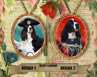 English Springer Spaniel Jewelry Pendant Handmade Gifts by Nobility Dogs
