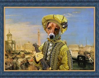Jack Russell Terrier or Parson Russell Terrier Art Print