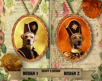 Yellow Labrador Retriever Jewelry Handmade Gifts by Nobility Dogs