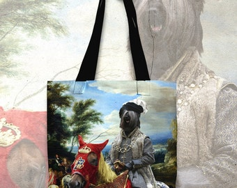 Skye Terrier Art Tote Bag  by Nobility Dogs Arts