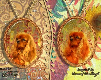 Cavalier King Charles Spaniel Jewelry Pendant