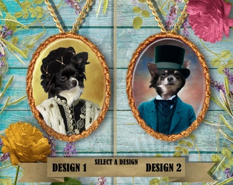 Chihuahua Jewelry Pendant By Nobility Dogs Handmade Gifts by Nobility Dogs