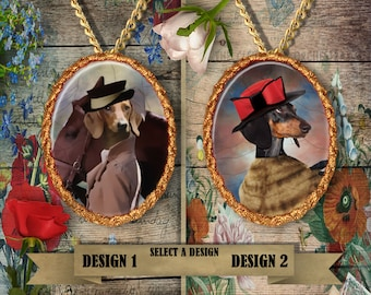 Dachshund Jewelry Handmade Gifts by Nobility Dogs