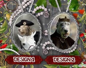 Irish Wolfhound Jewelry Handmade Gifts by Nobility Dogs