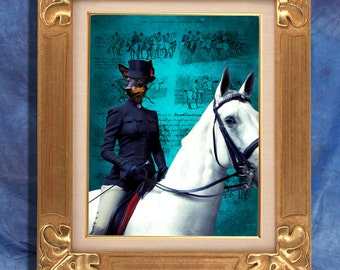 English Toy Terrier Art Print 11 x 14 inch original illustration artwork giclee archival premium poster print By Nobility Dogs