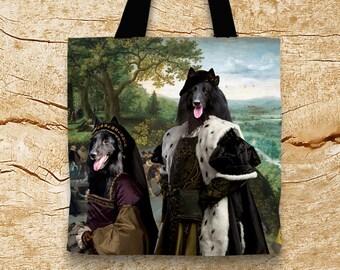 Belgian Groenendael/Belgian Shepherd/Belgian Sheepdog Art Tote Bag   Perfect DOG LOVER Gift for Her Gift for Him