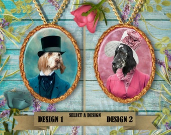 English Setter Jewelry Handmade Gifts by Nobility Dogs