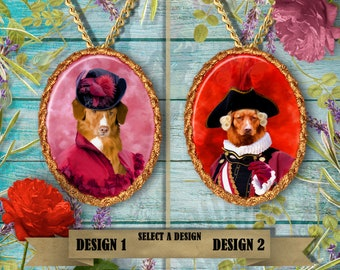 Nova Scotia Duck Tolling Retriever Jewelry Handmade Gifts by Nobility Dogs