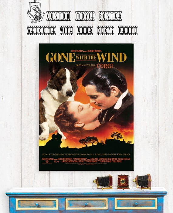 Old Movie Gone With The Wind Vintage Poster Art Wall Decor Gifts 14x20 Inch