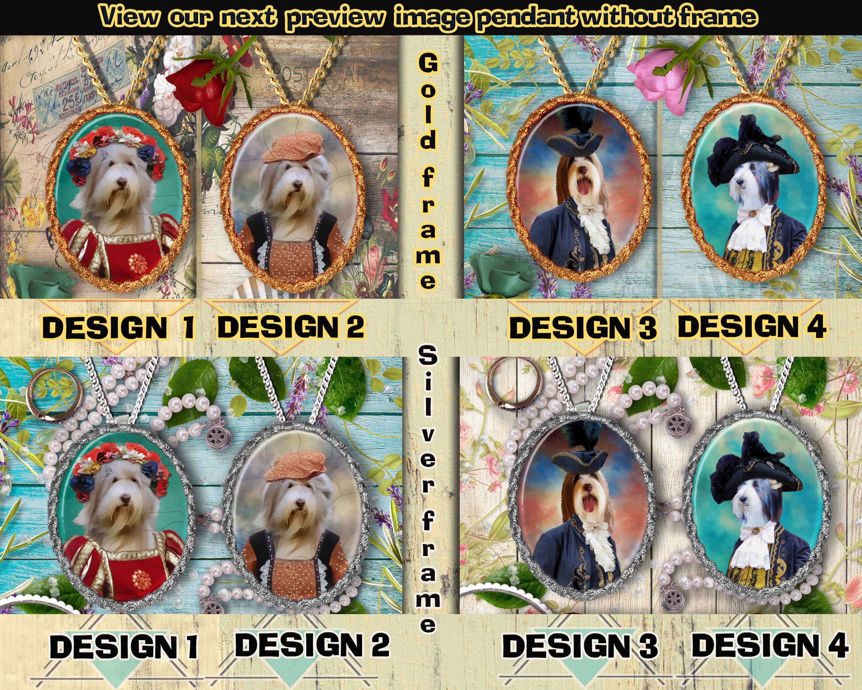 Photo Jewelry Necklace for People who Love Dogs Art Dog Ltd Basenji Handmade