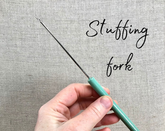 Stuffing fork, stuffing tool