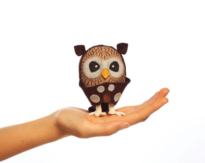 Owl PDF pattern, Owl sewing pattern, Owl PDF pattern, DIY owl, Plush owl