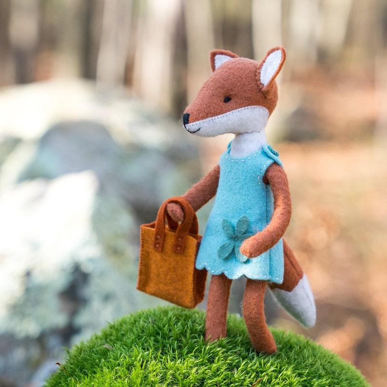 Charlotte Fox PDF pattern girl fox pattern foxy beginner image 0