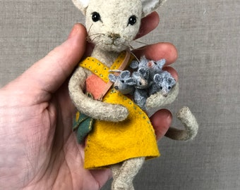 Chloe Cat PDF pattern, cat sewing pattern, Cat doll
