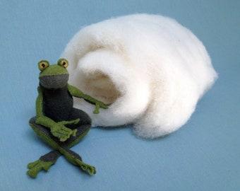 100% Wool stuffing, wool batting, craft supplies, sewing supplies, plush stuffing, DIY sewing