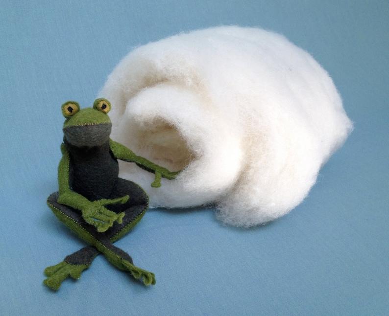 100% Wool stuffing wool batting craft supplies sewing image 0
