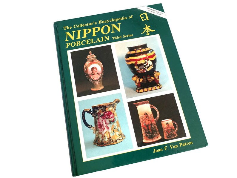 Nippon Porcelain, Third Series, Collector's Encyclopedia, Joan Van Patten,  Japanese Pottery, Price Guide, Antique Nippon, Pottery Marks No 3