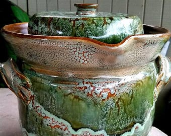 1 gallon fermenting crock Made-to-order