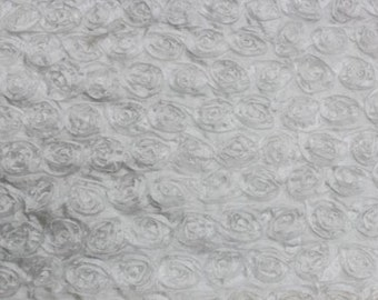 Yellow Spiral Rosette Taffeta Fabric Sold By Yard 54 Width