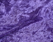Panne Velvet Crushed Backdrop Velour Stretch Fabric 60 Wide Purple By yard Photos, Draping, Curtains, Appeal Dresses 100 POLYESTER