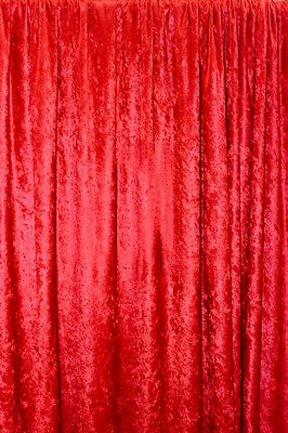 PANNE VELVET PINK Crush Velour Curtain Drape Panel Back Drop  60 inch wide