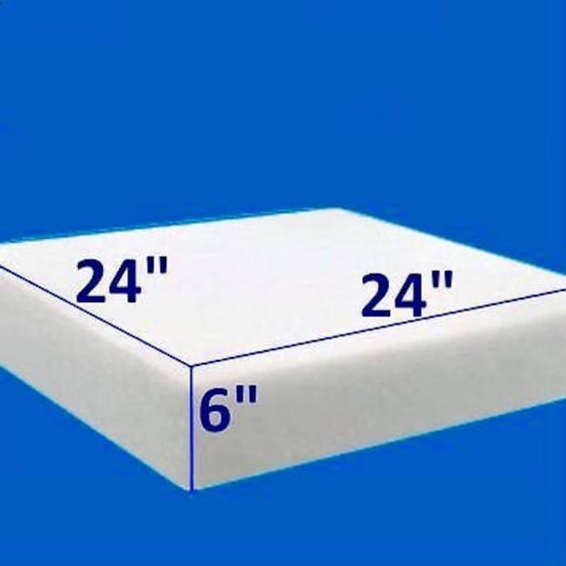 24 x 24 Square Foam Sheet 3 x 24 x 24
