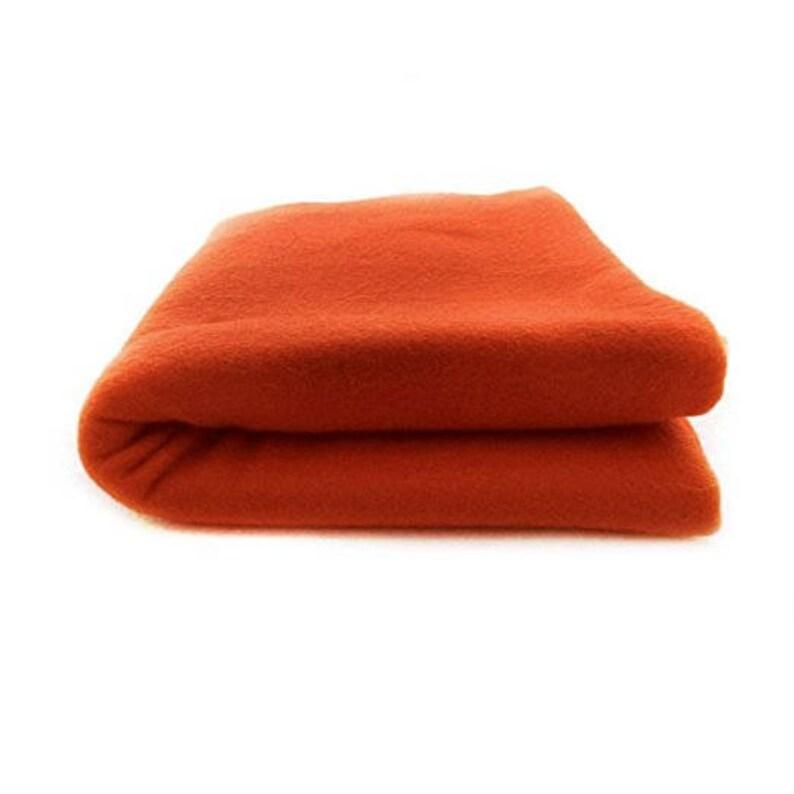 Red fleece Throw Blanket  Bed  Cover Warm cozy 30\u201dx30\u201d