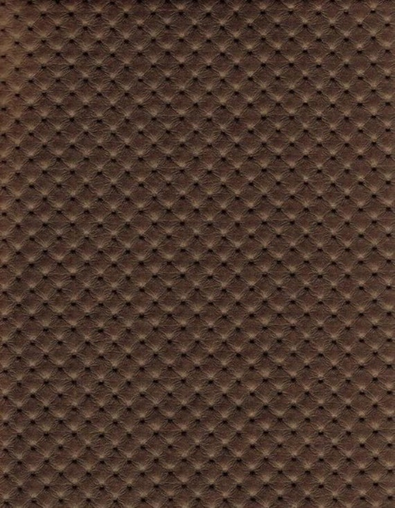 54 Wide Bronze Perforated Distressed Upholstery Faux Etsy
