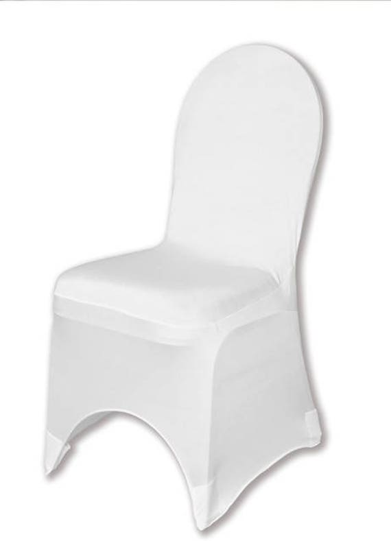 Wondrous Spandex Banquet Chair Cover White Stretch Chair Cover Wedding Machost Co Dining Chair Design Ideas Machostcouk