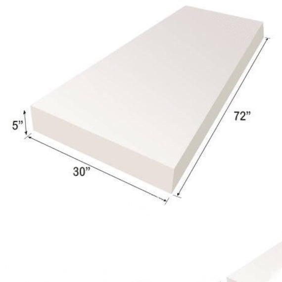 Upholstery Foam Cushion Sheet 5x30x72 | Etsy