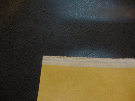 Black Recycled Leather Bonded Leather Eco Friendly Upholstery Etsy
