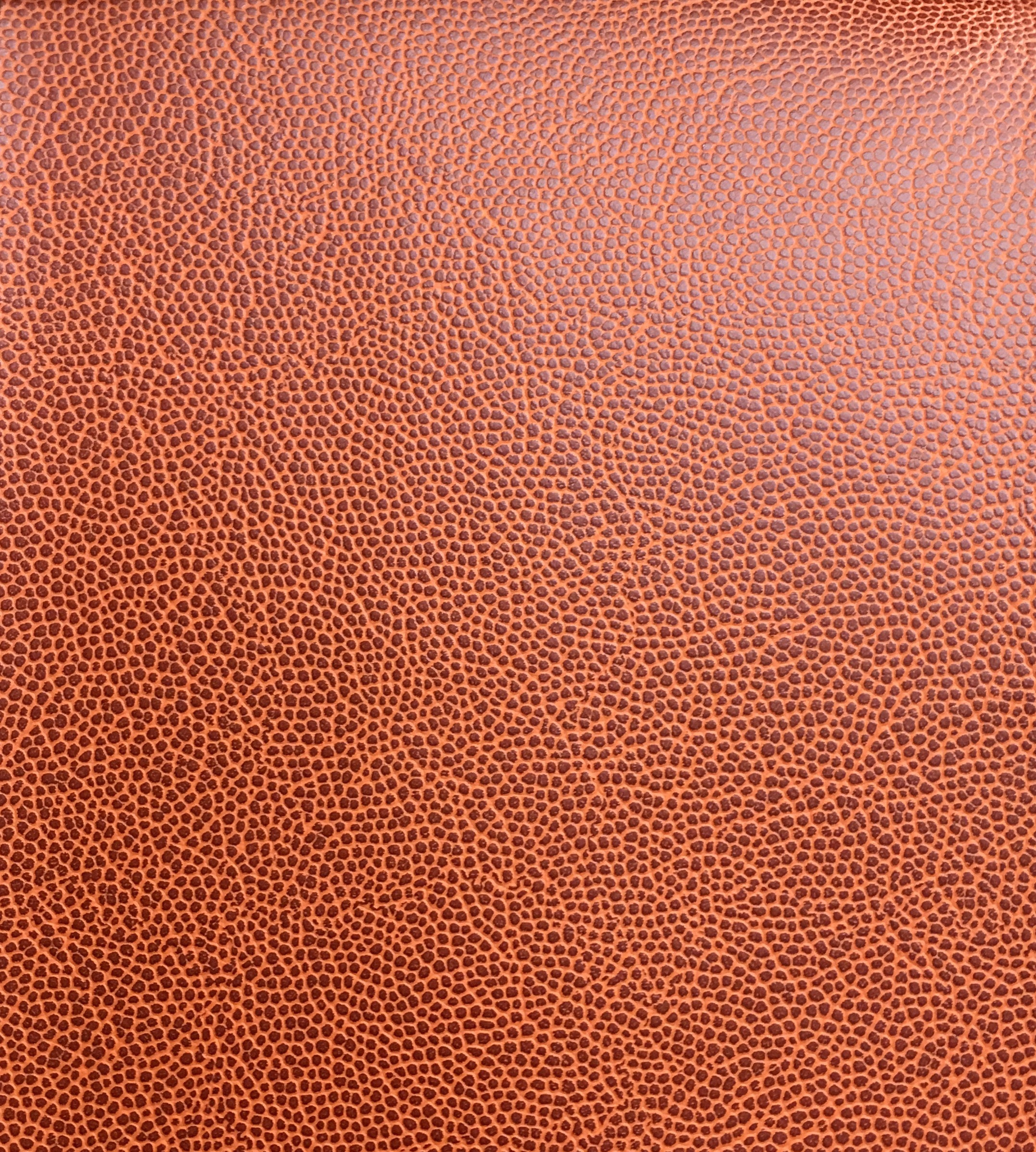 New Orange Basketball Upholstery Faux Leather Indoor Outdoor Etsy