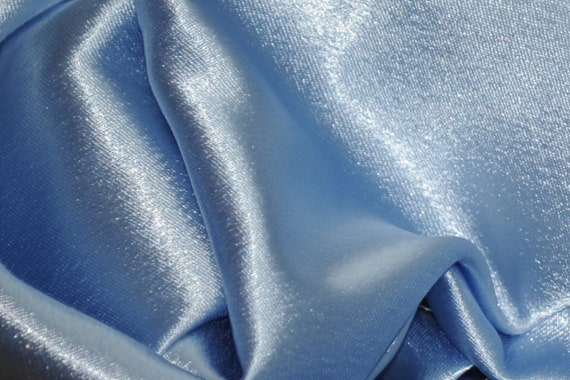 """MIDNIGHT BLUE STRETCH FAUX SILK TAFFETA FABRIC 60/""""W BRIDESMAID DRESS TABLECLOTH"""