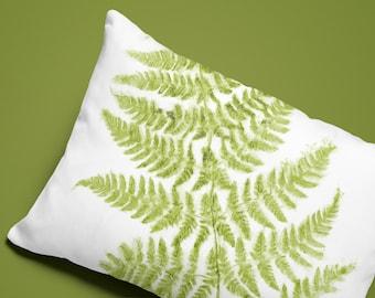 Fern Lumbar Pillow Etsy