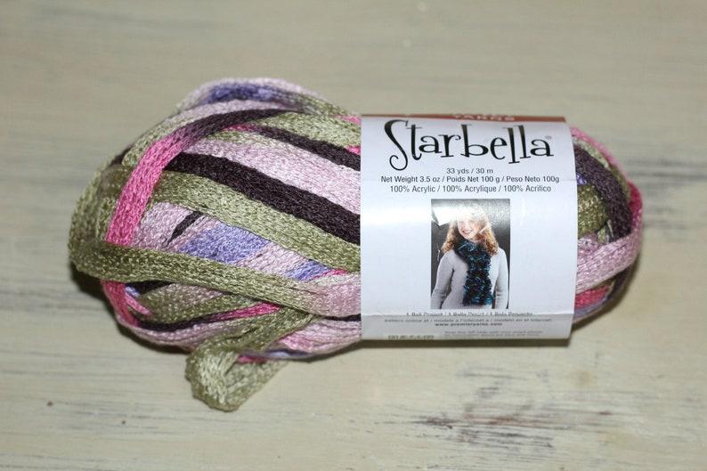 Starbella Yarn 1 Skein Color 15 20 Birthday Cake Super Bulky 6